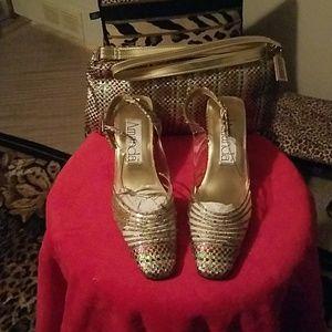 Shoes & handbag set